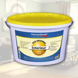 Interieur weiß- Innenbeschichtung