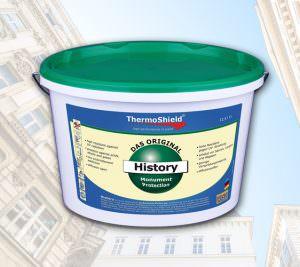 ThermoShield History Fassadenbeschichtung denkmalgeschützte Gebäude