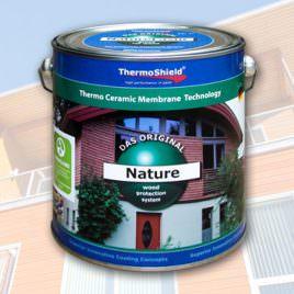 Nature weiß- Holzbeschichtung